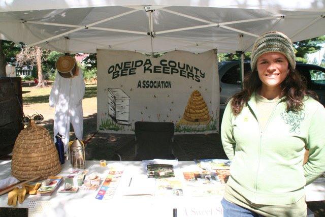 OCBA Volunteer at Oneida County Fair
